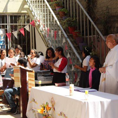 Fiesta en honor a María Auxiliadora