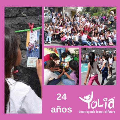 ¡Cumplimos 24 años ayudando a niñas y niños en México!